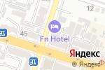 Схема проезда до компании The American в Шымкенте