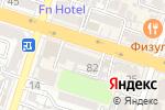 Схема проезда до компании Казэнергоэкспертиза, ТОО в Шымкенте