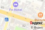 Схема проезда до компании Ажур в Шымкенте