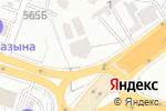 Схема проезда до компании Жаңа үй в Шымкенте