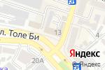 Схема проезда до компании Обувной магазин в Шымкенте