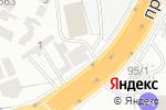 Схема проезда до компании Оптовик+ в Шымкенте