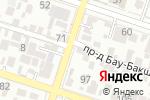 Схема проезда до компании Элика в Шымкенте