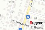 Схема проезда до компании Рахат в Шымкенте