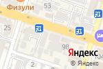 Схема проезда до компании Династия в Шымкенте