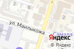 Схема проезда до компании Центр доктора Бубновского в Шымкенте