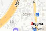 Схема проезда до компании Сенім в Шымкенте