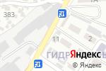 Схема проезда до компании Айзада Ана в Шымкенте