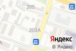 Схема проезда до компании IT Сфера в Шымкенте