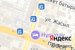 Схема проезда до компании Lady shop в Шымкенте