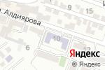 Схема проезда до компании Южно-Казахстанский колледж экономики и статистики в Шымкенте