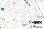 Схема проезда до компании Поликлиника Чапаевка, ПК в Шымкенте