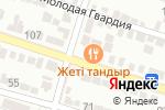 Схема проезда до компании Назарбай в Шымкенте