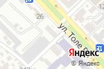 Схема проезда до компании Центр по изготовлению мебели под заказ в Шымкенте