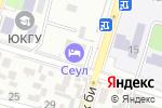 Схема проезда до компании Азия в Шымкенте