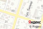 Схема проезда до компании АйСулу в Шымкенте