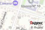 Схема проезда до компании AsiaTour в Шымкенте