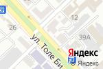 Схема проезда до компании ЭВЕРЕСТ в Шымкенте