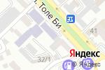 Схема проезда до компании Асыл-Ой в Шымкенте