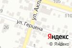 Схема проезда до компании Алтын-Алма в Шымкенте