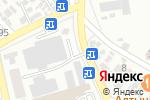 Схема проезда до компании CHICKEN в Шымкенте