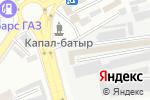 Схема проезда до компании Alinur в Шымкенте