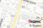 Схема проезда до компании Радуга в Шымкенте