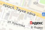 Схема проезда до компании Imperator в Шымкенте