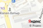 Схема проезда до компании Магазин лакокрасочных материалов в Шымкенте