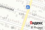Схема проезда до компании Aqua Car в Шымкенте