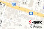 Схема проезда до компании FANTASY TRAVEL в Шымкенте