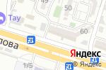Схема проезда до компании Радия в Шымкенте