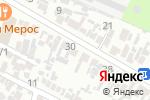 Схема проезда до компании Мерос в Шымкенте
