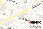 Схема проезда до компании Санбель в Шымкенте