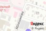 Схема проезда до компании BAZISMED в Шымкенте