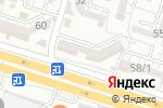 Схема проезда до компании Аякоз в Шымкенте