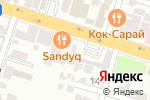 Схема проезда до компании Gidran в Шымкенте