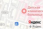 Схема проезда до компании Областная детская клиническая больница в Шымкенте