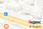 Схема проезда до компании Ынтымак в Шымкенте