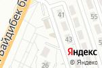 Схема проезда до компании Продуктовый магазин в Шымкенте