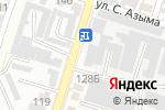 Схема проезда до компании AS & KO-23, ТОО в Шымкенте