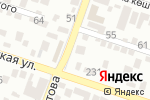 Схема проезда до компании Профи-Арт в Шымкенте