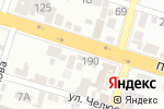 Схема проезда до компании ЛЮБАВА в Шымкенте