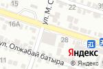Схема проезда до компании Магнолия Premium в Шымкенте