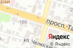 Схема проезда до компании КОНТИНЕНТ ТУР в Шымкенте