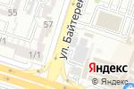 Схема проезда до компании АМАНАТ в Шымкенте