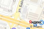 Схема проезда до компании ШЕГЕ в Шымкенте