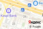 Схема проезда до компании Натали в Шымкенте
