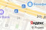 Схема проезда до компании PARI MATCH.KZ в Шымкенте