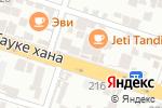 Схема проезда до компании Ginza Pub в Шымкенте